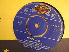 45T SINGLE PHILIPS / MORTIER-ORGEL UIT BRESKENS - MEDLEY N° 15