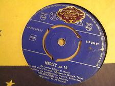 45T SINGLE PHILIPS / MORTIER-ORGEL UIT BRESKENS - MEDLEY N° 15
