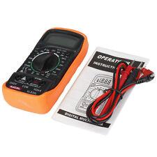 EXCEL XL-830L Digital LCD Multimeter Voltmeter Ohmmeter Voltage Current Tester