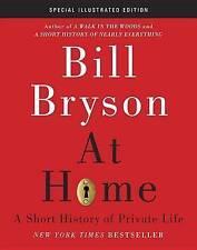 BILL BRYSON At Home Short History of Private Life 2013 Hardback Book Illusrated