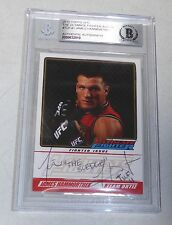 James Hammortree Signed UFC 2010 Topps The Ultimate Fighter Issue Card BAS COA