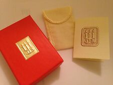 ❤️ James Avery ~ Jewelry Presentation Gift Box  🎁  w/ Flannel Pouch & 🎴Card ❤️
