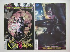 DC Comics Catwoman #15 Main + Artgerm Lau Variant NM