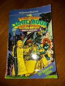 1995 Overstreet Comic Book Price Guide - 25th Anniversary Edition