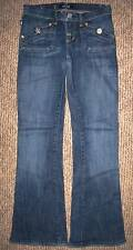 ROCK & REPUBLIC DISTRESSED FLARE JEANS WOMENS/GIRLS Size 25 (2)