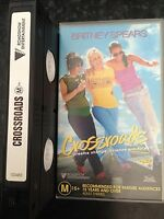 VHS VIDEO TAPE ~ Crossroads ~ Britney Spears Roadshow Entertainment