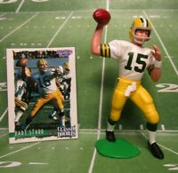 1997  BART STARR Starting Lineup CLASSIC DOUBLES Football Loose Figure & Card