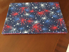 4th of July Memorial Day Fireworks, Stars (not a set) Placemats by ThemeRunners