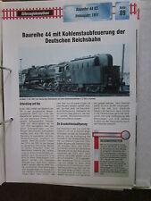 Dampflok ArchivG89: BR 44 KS Kohlestaub DR Ost