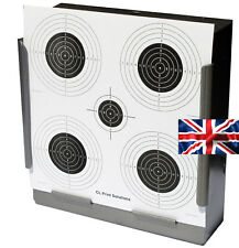 100 Air Rifle Five Circle Competition Paper Targets 14cm Pistol (100gsm uk made