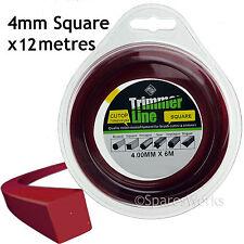 4mm Decespugliatore Trimmer Decespugliatore Cavo Linea lungo 4.0mm 12m Benzina Bobina Di Ricambio