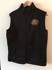 Ouray Shelby Ford Mustang 50th Anniversary Men's Black Commemorative Vest Sz S