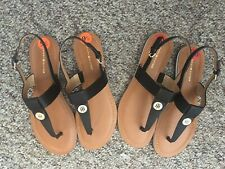 NWOB Tommy Hilfiger Women Garin T-Strap Thong Slingback Sandals 8, 9.5, 10