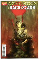 ARMY OF DARKNESS HACK SLASH #3 B, NM-, 2013, Horror, more AOD in store