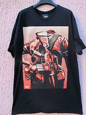 Maglia tshirt OBEY Giant X Al Rockoff Duality Of Humanity 3 limited edition rare