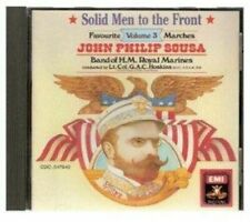 JOHN PHILIP SOUSA. SOLID MEN TO THE FRONT. CD. UK DISPATCH.