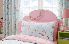 "Kidz Club Magical Unicorns & Fairies Girls Bedroom Lined Curtains Set 66"" X 72"""