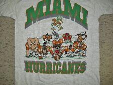 Miami Hurricanes shirt Vintage 90's Looney Tunes sz. XL NEW MINT Bugs Bunny Taz