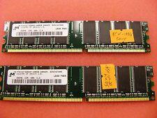 SONY Vaio PCV-1154 Desktop 512MB ( 2 x 256MB)  DDR 400 *  MT8DDT3264AY-40BGB