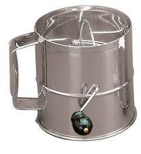 New listing (8 Cup) - Fox Run 4655 Flour Sifter, Stainless Steel, 8-Cup. Free Shipping