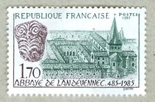 FRENCH POSTAGE - ABBAYE DE LANDEVENNEC 485-1985 STAMP 1,70 POSTES 1985 FRANCE