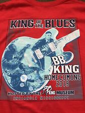 More details for b b king  homecoming  2019  t shirt  king of the blues  tour