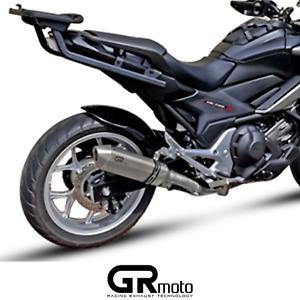 Exhaust for Honda NC750 X / S & NC700 X / S 12 - 21 GRmoto Muffler Titanium