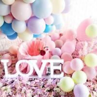 100Pcs 10inch Macaron Latex Balloon Celebration Party Wedding Birthday Decor UK