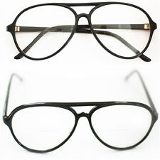 Reading Glasses Bifocal Classic ~ 70-80's Office Style ~ Black Frame +1.50 Lens