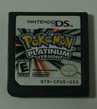 2009 Nintendo DS Pokemon Platinum Version Game Cartridge Only Tested Working