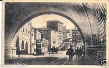 ts 123 1927 TRIESTE Traforo Montuzza e Piazza Sansovino viagg.FP Ed.Parovel