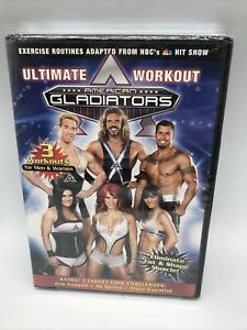 AMERICAN GLADIATORS ULTIMATE WORKOUT ELIMINATE FAT & SHAPE MUSCLE DVD Brand New