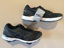 ASICS Men's Shoes Gel Excite 4 Carbon/Black/Electric Blue - Size 8