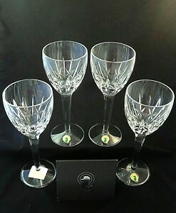 *NEW* Waterford SHERYL White Wine Glasses 164192 Set of 4 in the Original Box.