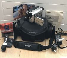 SONY HANDYCAM CCD-TRV238E VIDEO CAMERA RECORDER CAMCORDER HI-8 TAPE ANALOGUE 8MM