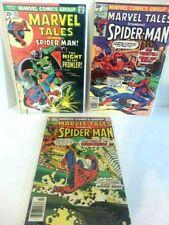 Marvel Tales #59, 124, 129 starring Amazing Spiderman, Prowler,Tarantula,Shocker