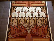 """PANNELLO completo di Vintage Tessuto Remnant DA PETER HALL per Heal's """"Rosamund"""""""