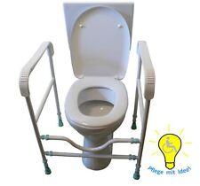 Aufstehhilfe Toilette Hilfsmittel WC Haltegriff Toilette Bad bis 190 kg!