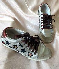 Ash Silver Sneaker size 37 6.5US
