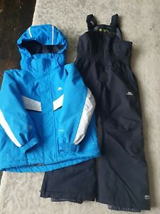 Boy's Trespass Ski Suit 3-4 Years