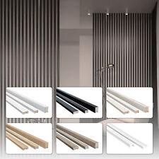 1,35m Stella Holzlamellen MDF Holz Wandverkleidung Raumtrenner 3D Wandpaneele