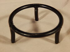 (1) Large SHORT Round Metal Display Stand for SPHERE ORNAMENTS or GLOBE