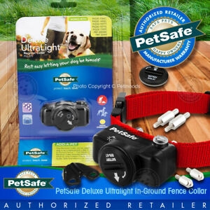 PetSafe In-Ground Fence Deluxe UltraLight Dog Collar PUL 275 Receiver w/ RFA-67