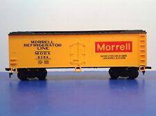 """HO Scale """"Morrell Refrigerator Line"""" Freight Train Car / MORX 9204 / Mehano"""