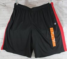 Nwt Champion Men's Athletic Shorts sz Xxl (2Xl) black