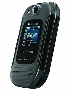 EXCELLENT 3G Samsung Convoy 3 SCH-U680 Verizon Basic Flip Cell Phone Page Plus