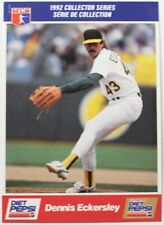 1992 Dennis Eckersley Diet Pepsi Collector's Series Card # 7 of 30