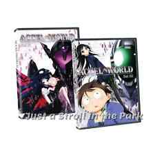 Accel World: Anime TV Series Complete Collections 1 & 2 Box / DVD Sets