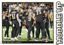 New Orleans Saints (Drew Brees) - 2020 Panini Score (Huddle Up)