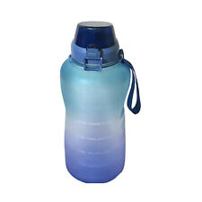 4AMinLA Motivational Water Bottle 128oz Half Gallon Jug with Straw and Time Make